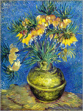 Galleritryck  Fritillaries in a Copper Vase - Vincent van Gogh