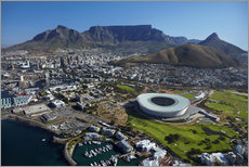 Galleritryck  Cape Town Stadium and Table Mountain - David Wall