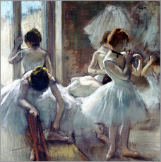 Självhäftande poster  Group of Dancers - Edgar Degas