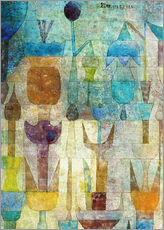 Självhäftande poster  Plants early in the morning - Paul Klee