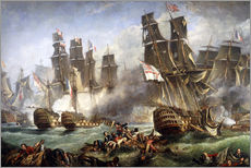 Galleritryck  The Battle of Trafalgar