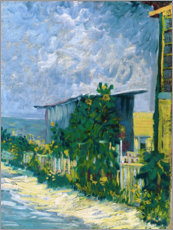 Premiumposter  Shelter on Montmartre - Vincent van Gogh