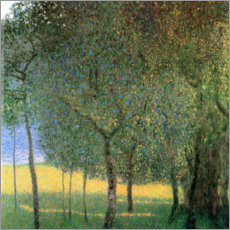 Premiumposter  Fruit Trees - Gustav Klimt