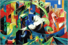 Akrylglastavla  Cattle (picture with cattle I) - Franz Marc