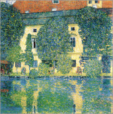 Akrylglastavla  Schloss Kammer on the Attersee III - Gustav Klimt