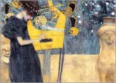 Galleritryck  The Music - Gustav Klimt