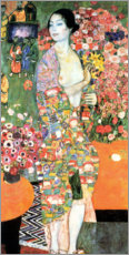 PVC-tavla  The dancer - Gustav Klimt