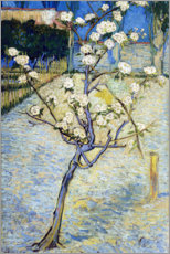 Trätavla  Blossoming Pear Tree - Vincent van Gogh
