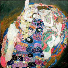 PVC-tavla  The Maiden - Gustav Klimt
