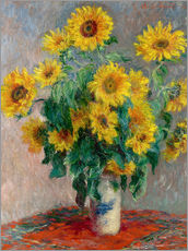Galleritryck  Bouquet of Sunflowers - Claude Monet