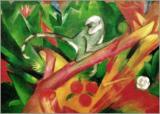 Akrylglastavla  The monkey - Franz Marc