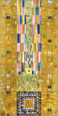 Galleritryck  The Knight, Stoclet frieze - Gustav Klimt