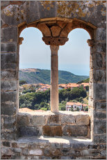 Galleritryck  A view through the window in Tuscany, Italy - Filtergrafia