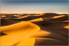 Galleritryck  Desert landscape at sunrise - Andreas Wonisch