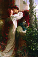 Galleritryck  Romeo and Juliet, 1884 - Sir Frank Dicksee