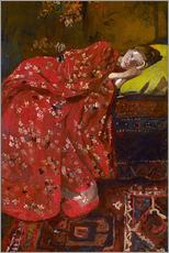 Galleritryck  The Red Kimono - Georg-Hendrik Breitner