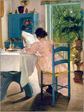 Självhäftande poster  At breakfast - Laurits Andersen Ring