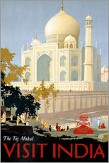 Galleritryck  Indien - Taj Mahal - Travel Collection