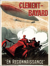 Galleritryck  Clement Bayard Automobile - Advertising Collection