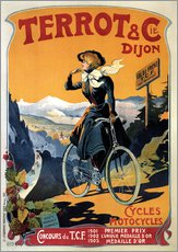 Galleritryck  Terrot & Cie Dijon bicycles and motorcycles - Advertising Collection