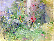 Galleritryck  The Garden at Bougival - Berthe Morisot