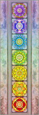 Galleritryck  The Seven Chakras - Series III -Artwork II - Dirk Czarnota