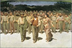 Galleritryck  The Fourth Estate - Giuseppe Pellizza da Volpedo