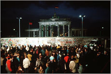 Galleritryck  Fall of the Berlin Wall