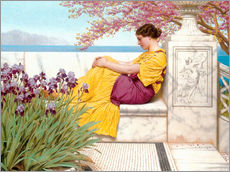 Galleritryck  Under The Blossom That Hangs On The Bough - John William Godward
