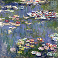 Galleritryck  Water lilies - Claude Monet