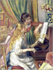 Galleritryck  Girls at the Piano - Pierre-Auguste Renoir