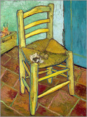 Galleritryck  Van Gogh's Chair - Vincent van Gogh