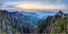 Galleritryck  Huangshan - Jan Christopher Becke