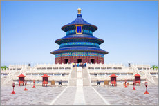 Galleritryck  Temple of Heaven in Beijing - Jan Christopher Becke