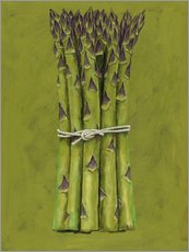 Galleritryck  Asparagus bunch - Brian James