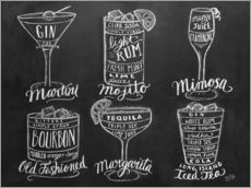 Galleritryck  Cocktail Recipes - Lily & Val