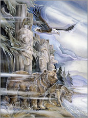 Galleritryck  The three watchmen - Jody Bergsma