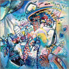 Galleritryck  Red Square - Wassily Kandinsky
