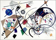 Galleritryck  Continuous line - Wassily Kandinsky