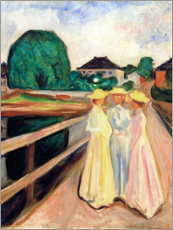Galleritryck  Girls on the pier - Edvard Munch