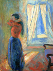 Akrylglastavla  cook woman in - Edvard Munch