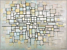 Galleritryck  Composition No. II - Piet Mondriaan