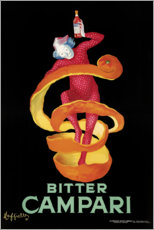 Canvastavla  Bitter Campari - Leonetto Cappiello