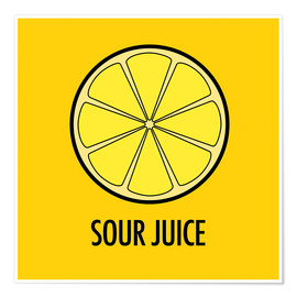 Premiumposter Sour Juice