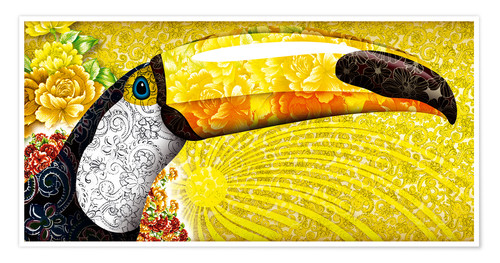 Premiumposter Gorgeous toucan