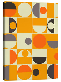 Canvastavla  Panton orange - Mandy Reinmuth