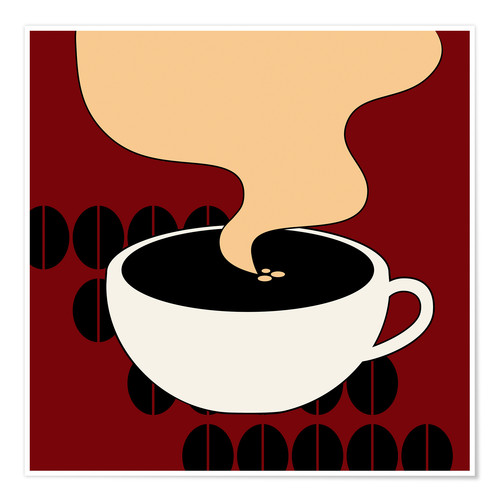 Premiumposter Hot Coffee