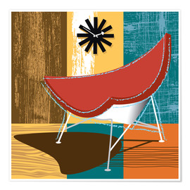 Premiumposter coconut chair