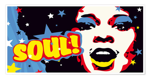 Premiumposter Soul! for the funky world
