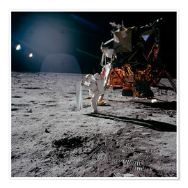 Premiumposter  Apollo 11 Moon Walk